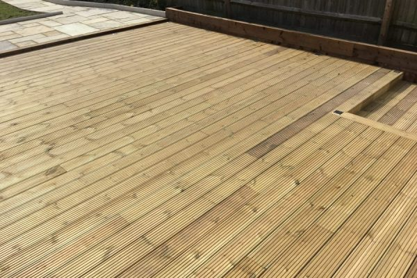 Decking Enfield Landscapes
