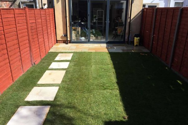 landscapers in North London