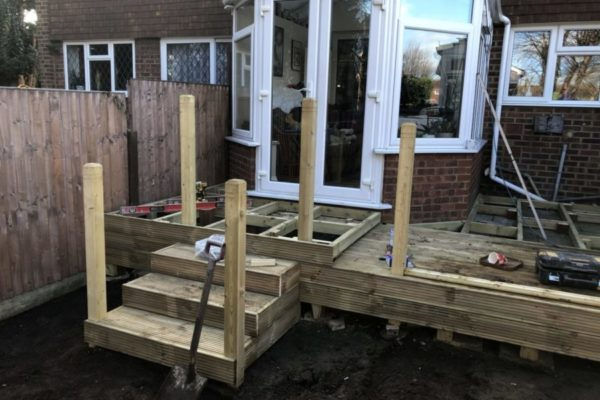 Decking Installation Cheshunt